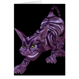 chesire cat card