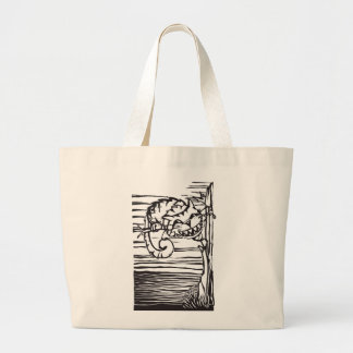 Chesire Cat Large Tote Bag