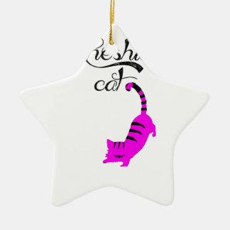 Chesire Cat Christmas Tree Ornaments