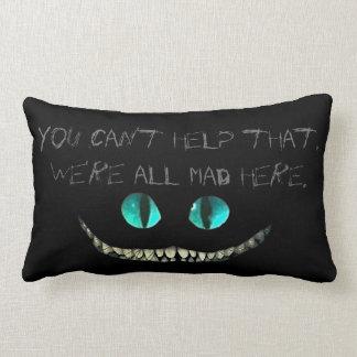 Chesire cat pillow