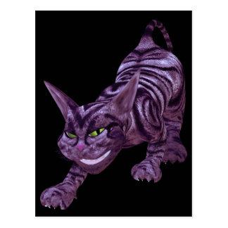 chesire cat postcard