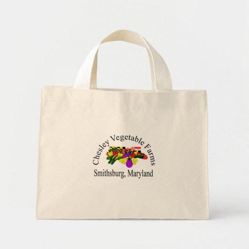 Chesley Vegetable Farms Smithsburg, Maryland Mini Tote Bag
