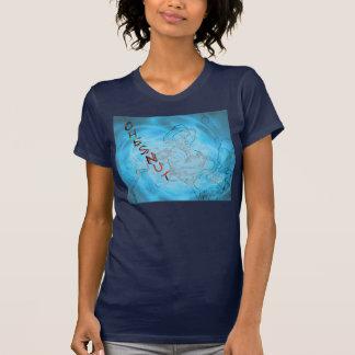 ¡Chesnut! Camiseta costera de la vaquera