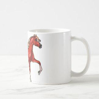 chesnut horse coffee mug