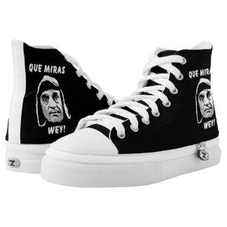 Chespirito Que Miras Wey High Top Shoes Printed Shoes