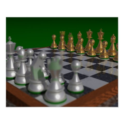 chess20001600 a 20x16 = 29x23 poster
