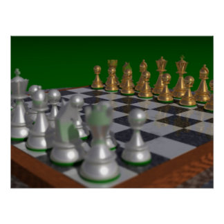chess24001800 to 24x18 = 31x23 poster