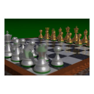 chess30002000 to 30x20 = 34x23 poster