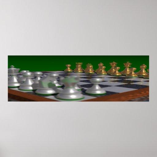 chess36001175 a 36x11.75 = 34x11 póster
