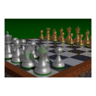 chess40002700 to 40x27 = 34x23 poster
