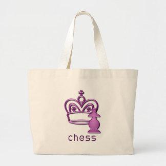 chess-1 jumbo tote bag