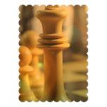 "chess-20 5"" x 7"" invitation card"