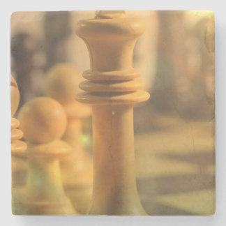 chess-20 posavasos de piedra