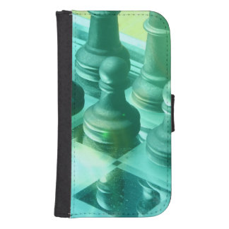 chess-25 fundas tipo cartera para galaxy s4