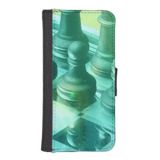 chess-25 fundas tipo cartera para iPhone 5
