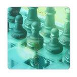 chess-25 puzzle coaster