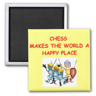chess 2 inch square magnet