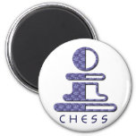 chess-2 refrigerator magnets