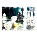 "chess-39.jpg 5"" x 7"" invitation card"