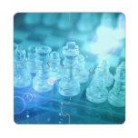 chess-7 puzzle coaster
