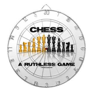 Chess A Ruthless Game (Reflective Chess Set) Dartboard