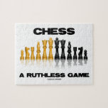 Chess A Ruthless Game (Reflective Chess Set) Puzzle