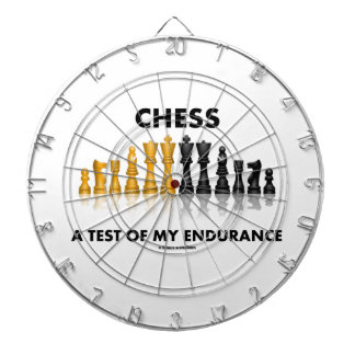 Chess A Test Of My Endurance Reflective Chess Set Dartboard With Darts