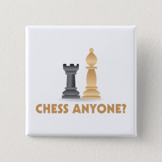 Chess Anyone Chess Pieces Button