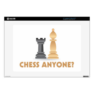 Chess Anyone Chess Pieces Laptop Skins