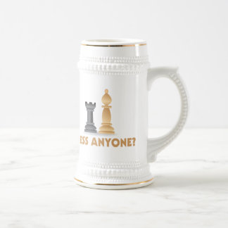 Chess Anyone Chess Pieces 18 Oz Beer Stein