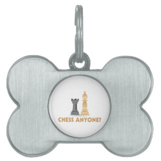 Chess Anyone Chess Pieces Pet ID Tag