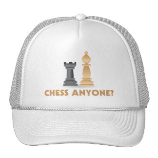 Chess Anyone Chess Pieces Trucker Hat
