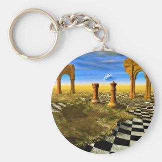 Chess art, chess rules, chess openings, keychain