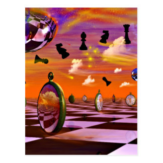 Chess Art great chess gift Postcard