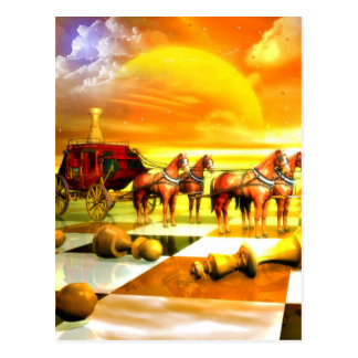 Chess Art great chess gift Post Card