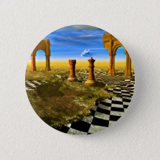Chess Art Pinback Button