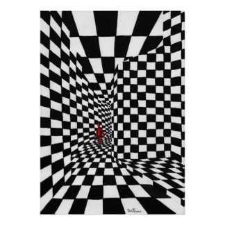 Chess Art Poster