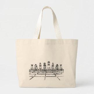Chess Jumbo Tote Bag