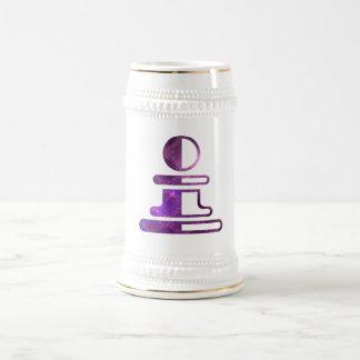 Chess Beer Stein 18 Oz Beer Stein
