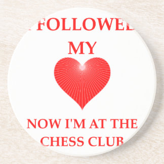chess beverage coaster