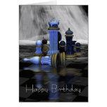 Chess Birthday Card