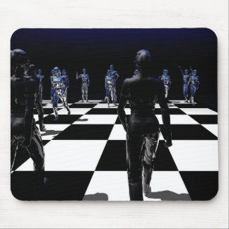 Chess - Bishop's POV Mouse Pad