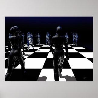 Chess - Bishop's POV Poster