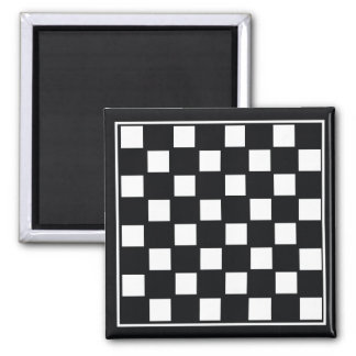 Chess Board 2 Inch Square Magnet