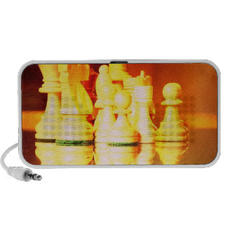 Chess Board and Pieces Speakers