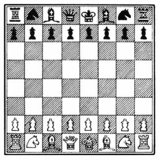 Chess Board Cutout