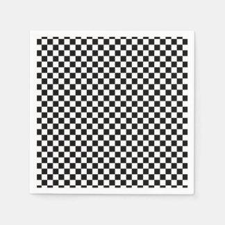 Chess Board  Design Napkin