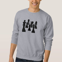 Chess board game sweatshirt