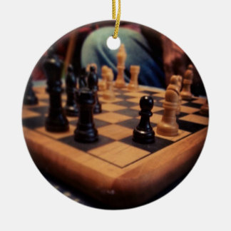 Chess Board Gift item Ceramic Ornament