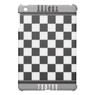 chess board grey  case for the iPad mini